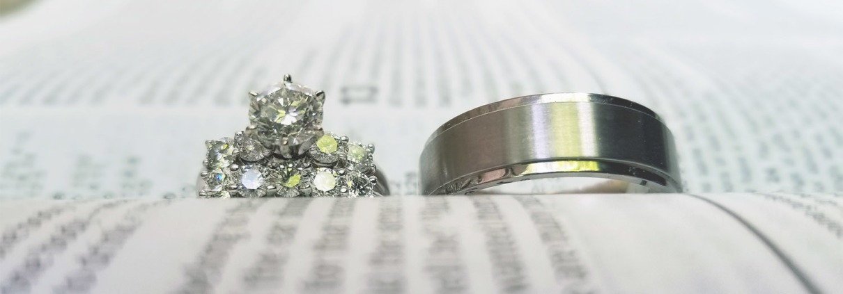 Rings on a Bible